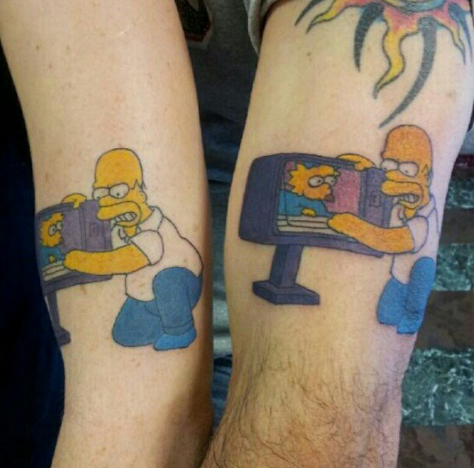 Father and Daughter Get Matching Tattoos