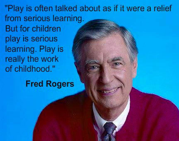 Play Is The Best Way To Learn