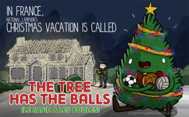 Funny Christmas Movie Alternative Titles in Foreign Languages