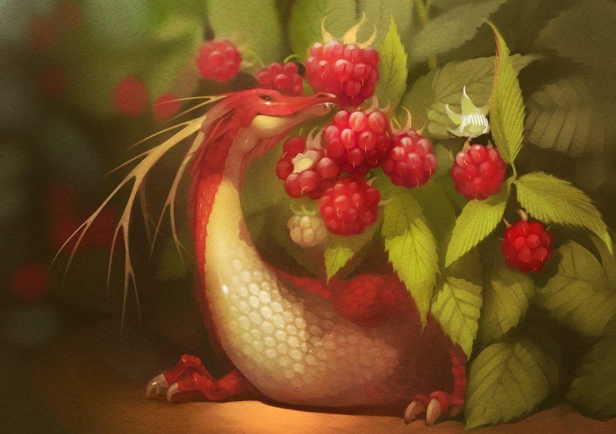 Raspberry Dragon