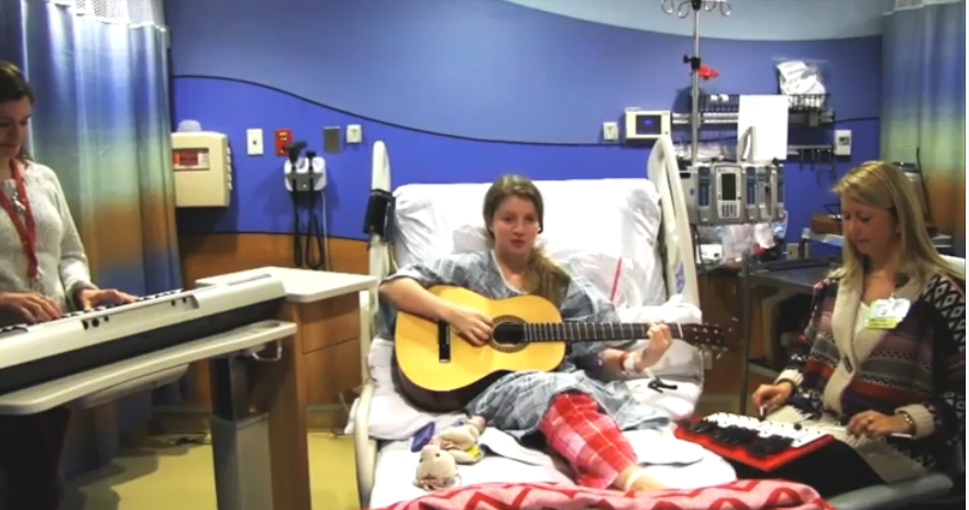 Girl with many brain surgeries and Taylor Swift