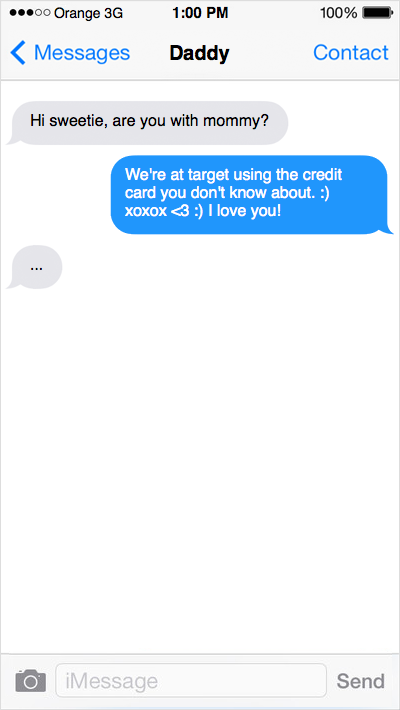 Honest Toddler Text