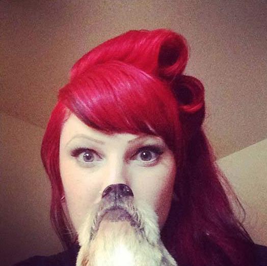Human Dog Face