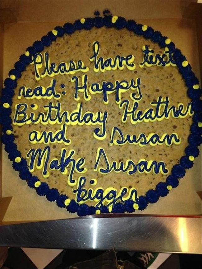 I Love A Good Cake Fail