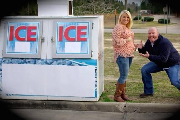 Ice Ice Baby Pregnancy Announcement