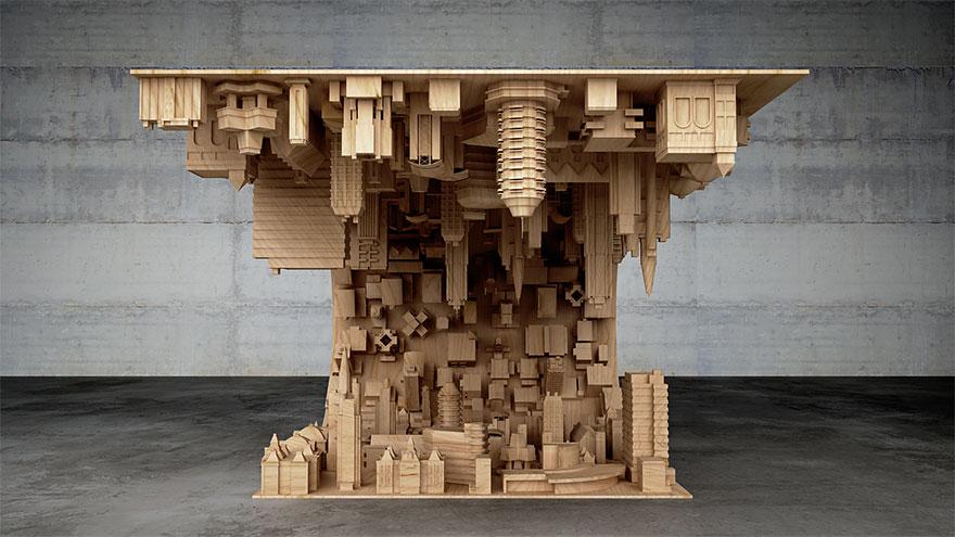 Inception coffee table design