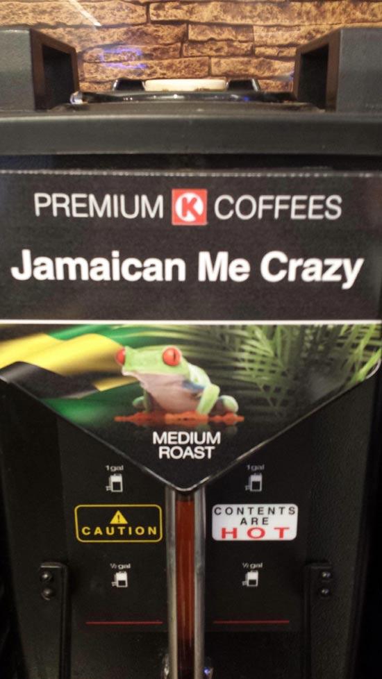 Jamaican Me Crazy Pun