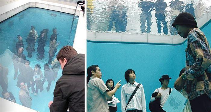 Japanese Pool Illusion