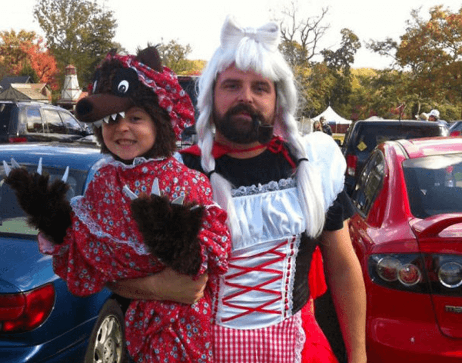 This Little Red Riding Dad