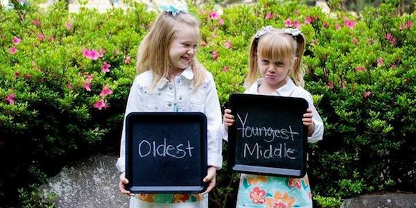 Middle Child To Be - Baby on the way - funny