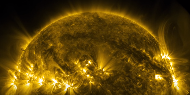 NASA 4K Video of the Sun