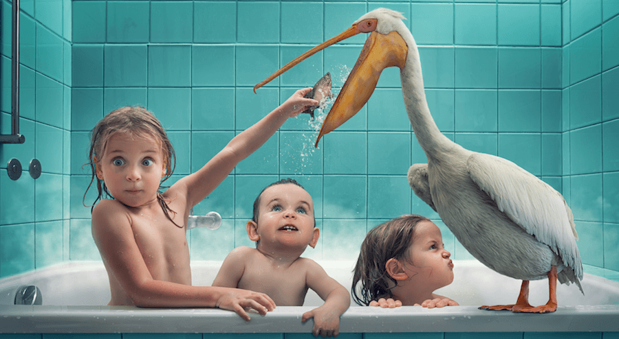 A Dad Brings His Kids' Fantasies To Life