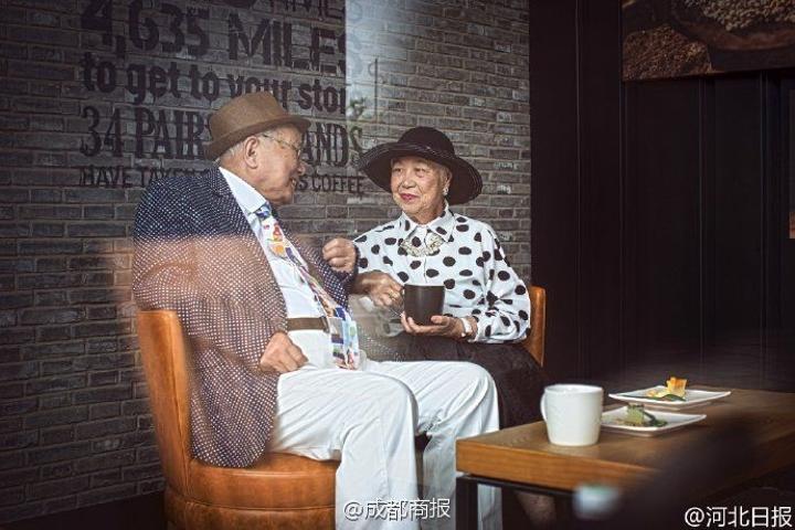 Photo shoot for 67th wedding anniversary