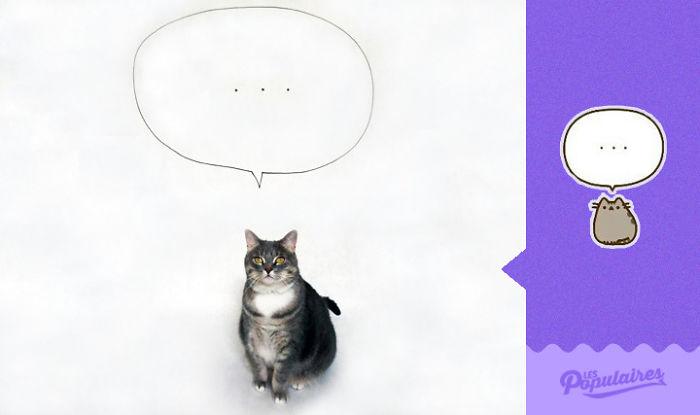 Pusheen Cat - The Thought