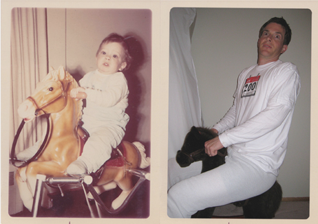 Recreating our Childhood in Photos
