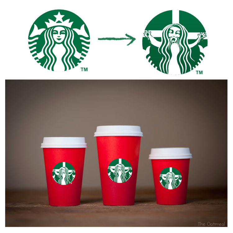 Red Cup Holiday Meme