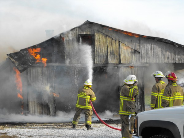 Fire, Electrical Wires, And Saving Animals