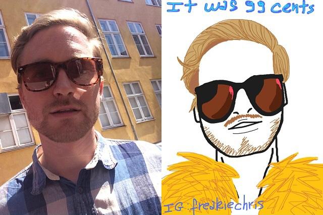 Selfie Caricature