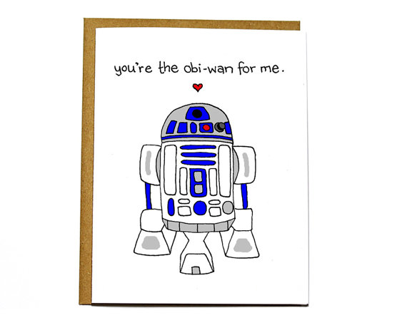 Star Wars Valentines Day Card