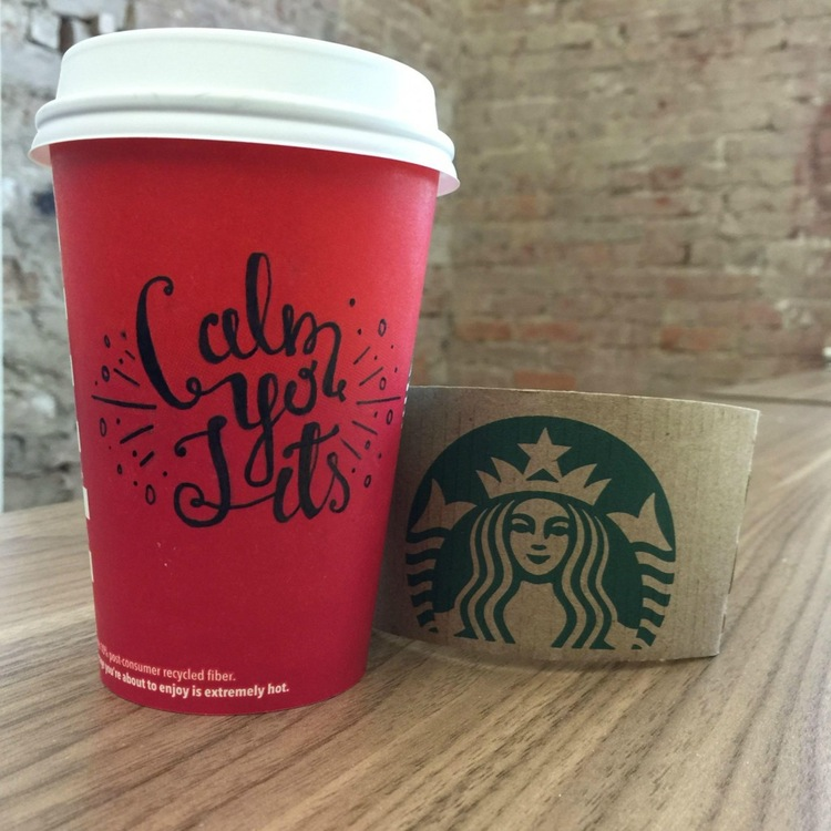 Starbucks Meme - Red Holiday Cups