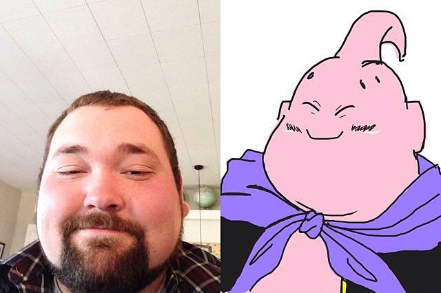 This guys Cartoon Selfie is hilarious