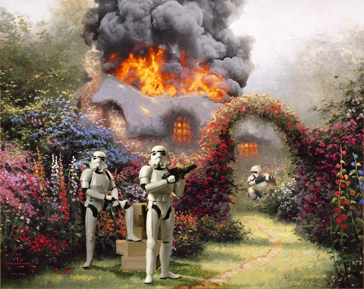 Thomas Kincaid and Star Wars