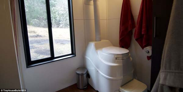 Tiny House Bathroom Toilet