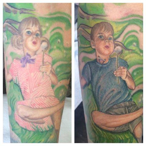 Transgendered Tattoo Transformation