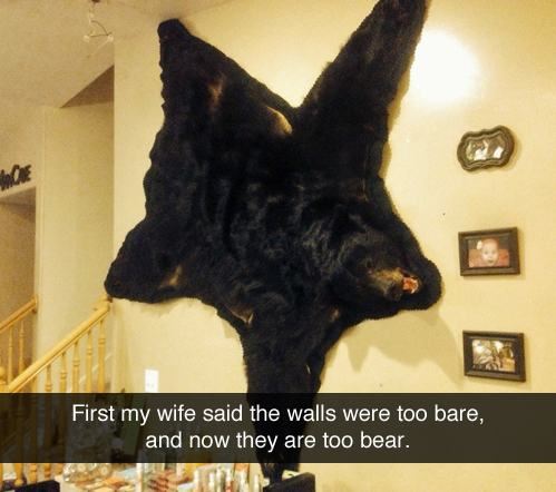 Walls Are Bear