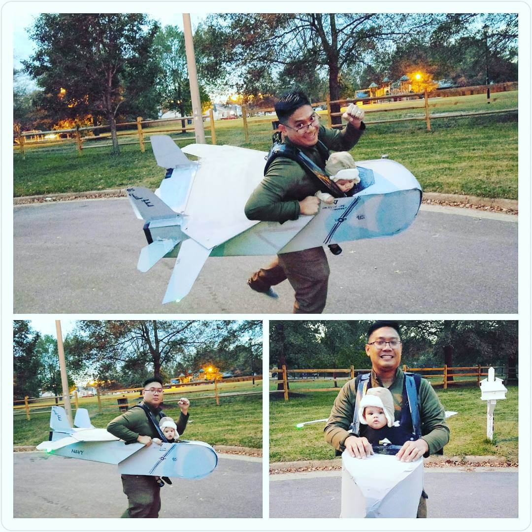 Airplane Baby Costume