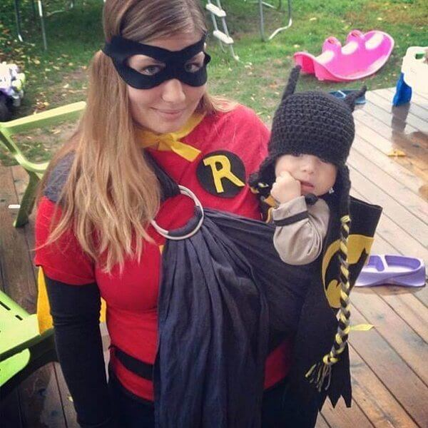 Batman and Robin baby