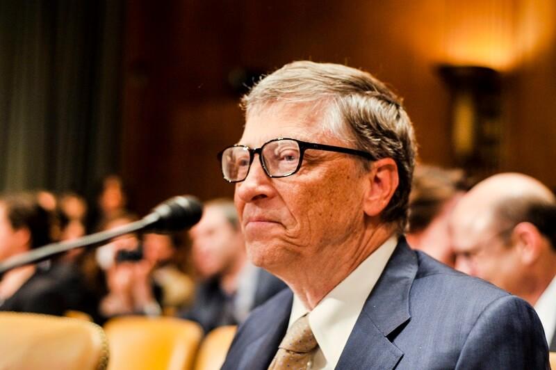 Bill Gates At Hearing