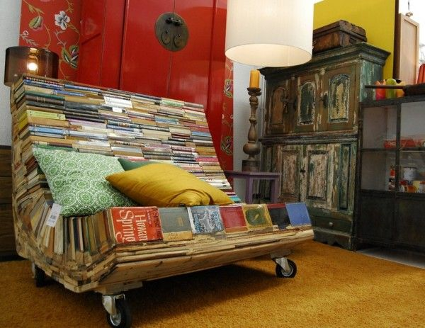 books chair