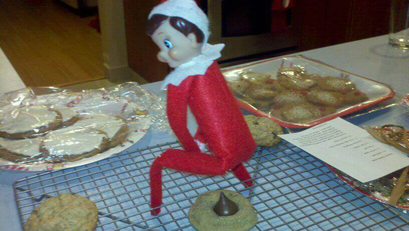 This Elf On The Shelf Is Banned From The Kitchen