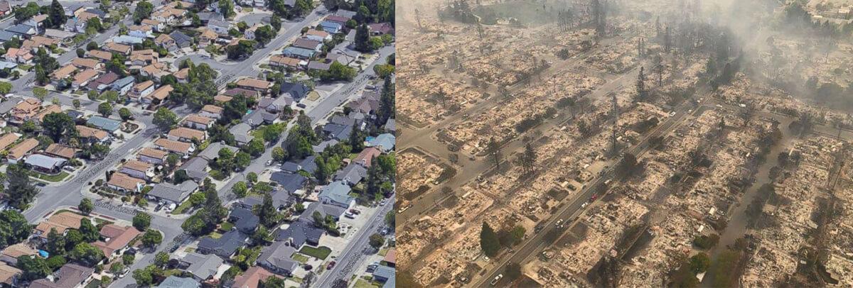 The Neighborhood Vanished: Coffey Park, Santa Rosa