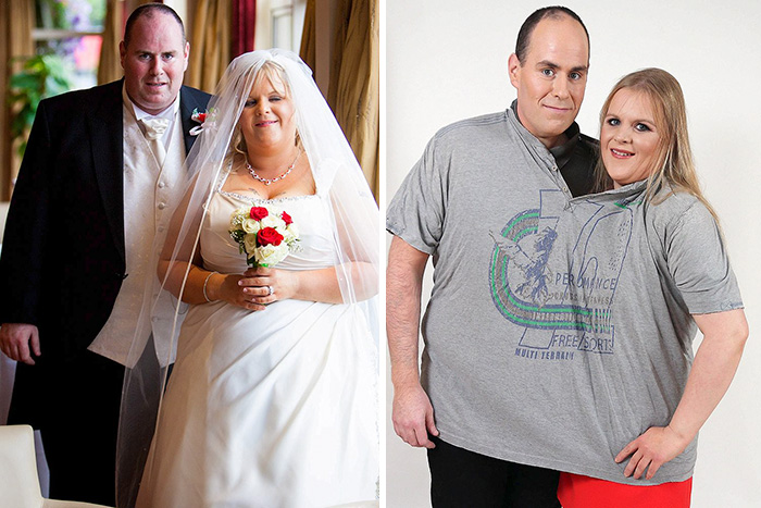 This Couple Lost An Entire Person!
