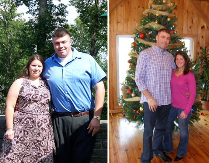 It Takes Hard Work To Accomplish This Couple's Weight Loss