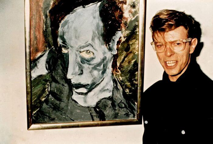 Starman Was Also a Painter and Sculptor