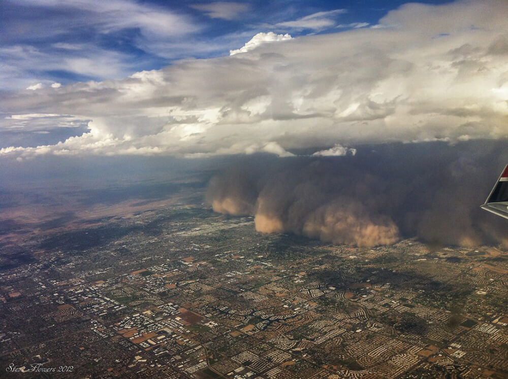 A Haboob Descends Upon Pheonix