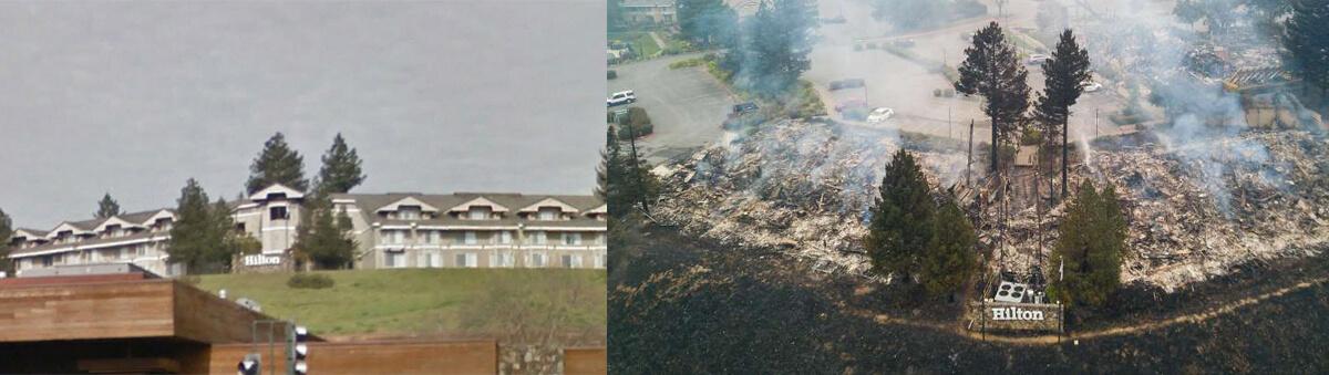Fountaingrove Hilton Hotel Quickly Evacuated