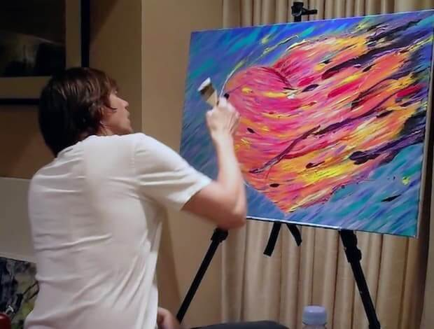 Can You Believe Jim Carrey Is A Talented Painter?