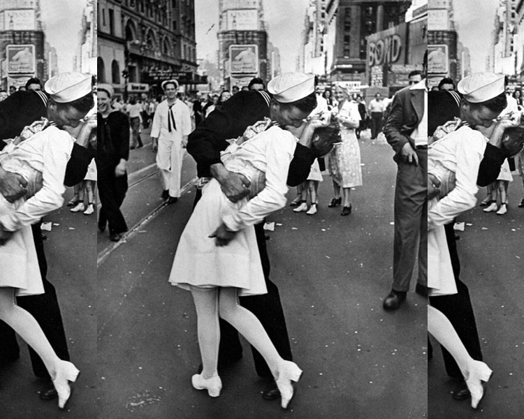 VJ Day Passion In Times Square