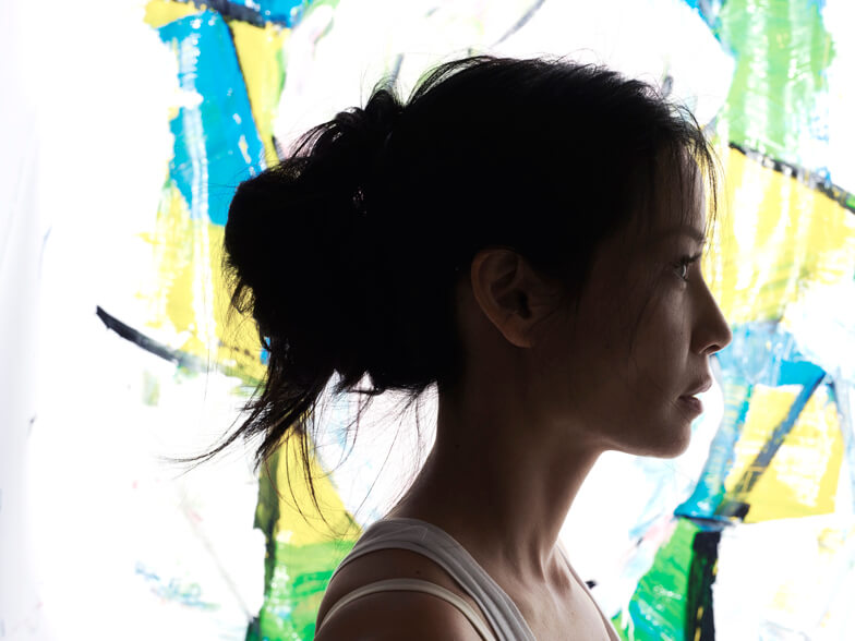 Lucy Liu Paints With a Purpose