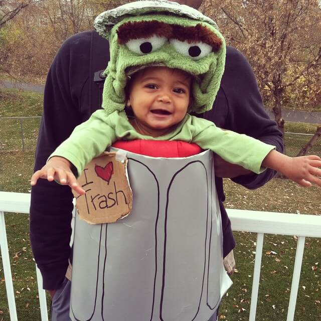 Oscar the Grouch kid costume