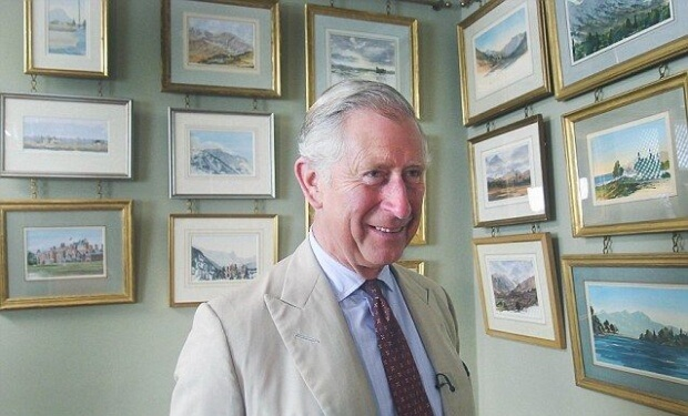 Charles, Prince Of Wales, Painter