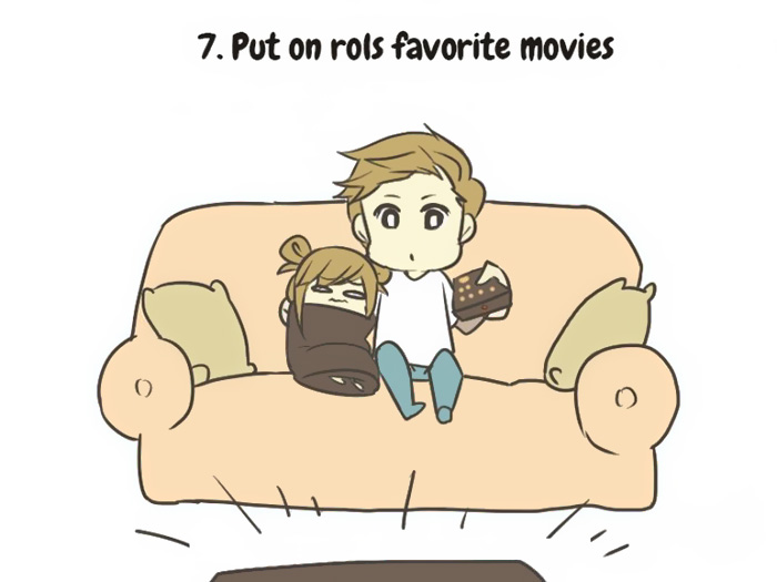 put on rolls favorite movie