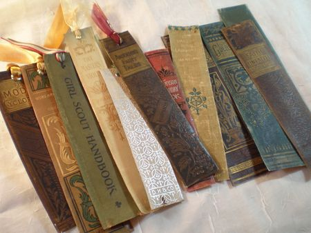 Bookmarks from books