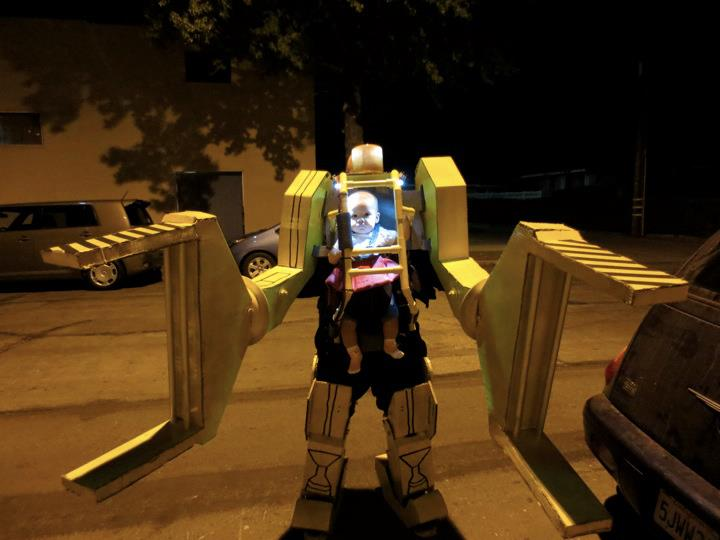 Work Loader Aliens baby costume