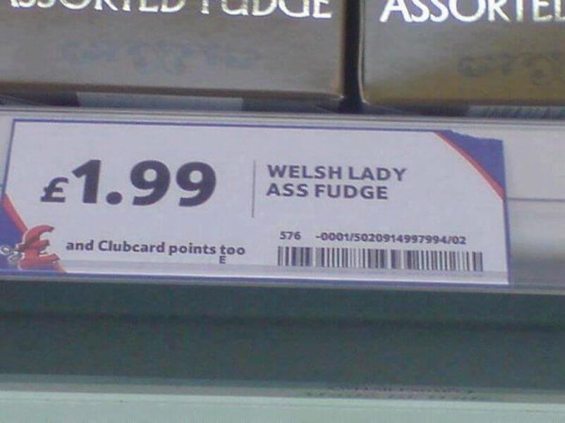 Not So Tasty Fudge